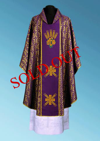 Traditional Chasuble #11-101P