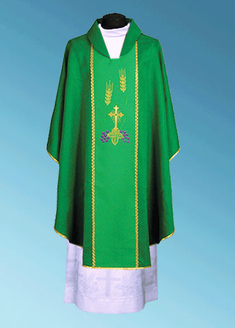 Traditional Chasuble #11-105 (Available in 3 colors)
