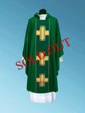 Contemporary Medium weight Chasuble #11-125 (Available in 4 colors)