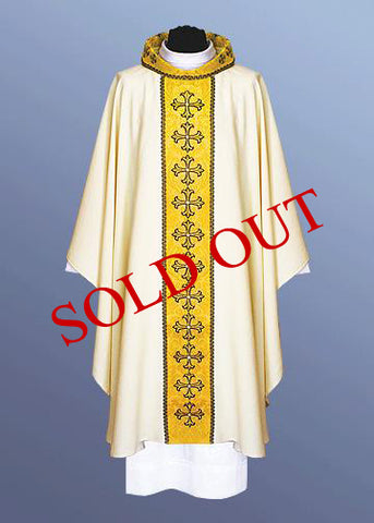 Traditional Chasuble (Available in 4 Colors) #11-213