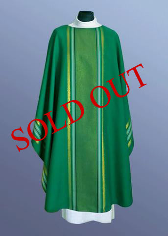 Lightweight Monastic Contemporary Chasuble #11-423  (Available in 4 Colors) (Sold Out)