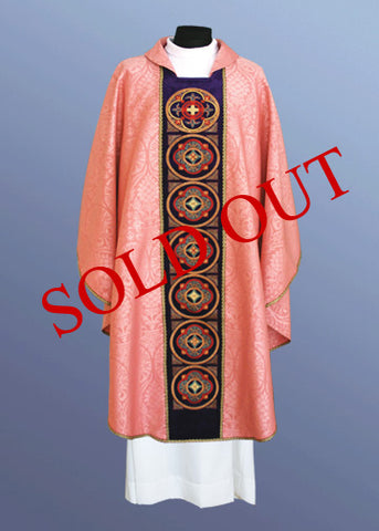 The Notre Dame Chasuble #11-451 (Available in 7 colors)