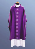 Lightweight Contemporary Chasuble #11-479 (Available in 5 Colors) - NEW!