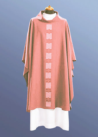 Lightweight Contemporary Chasuble #11-479 (Available in 5 Colors) - NEW MARKDOWN!