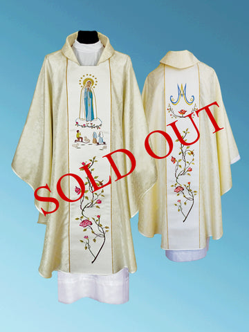 Our Lady of Fatima Chasuble #11-497OLF