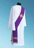 Veritas Polska Signature Deacon Stole #11-6011DS  (Available in 5 Colors)