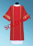 Veritas Polska Signature Dalmatic #11-6011 (Available in 5 Colors)