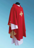 Veritas Polska Signature Chasuble #11-601 (Available in 5 Colors)