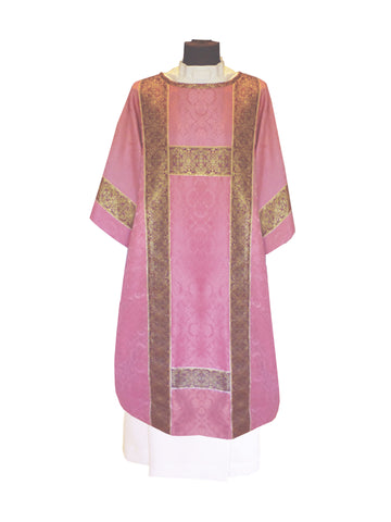 Traditional Semi-Gothic Dalmatic #11-700 (Available in 8 Colors)
