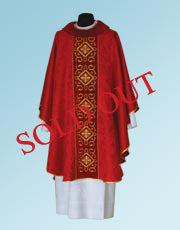 Gothic Chasuble #11-703 (Available in 7 Colors)