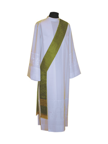 Deacon Stole #11-7071DS (Available in 5 Colors)