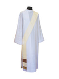 Deacon Stole #11-7071DS (Available in 6 Colors)