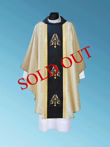 Gothic Marian Chasuble  -  #11-716M (Sold out)
