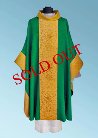Monastic Style Chasuble (Available in 4 Colors) - NEW! #11-717