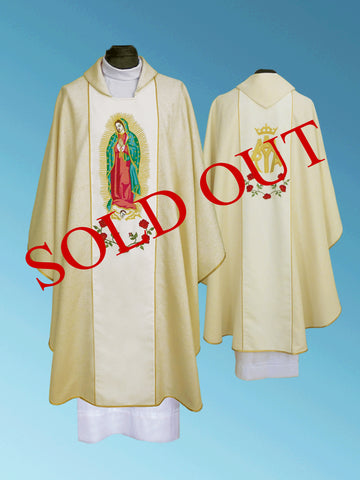 Our Lady of Guadalupe Chasuble #11-720OLG