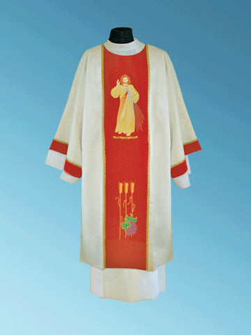 Matching Divine Mercy Dalmatic #11-804DM