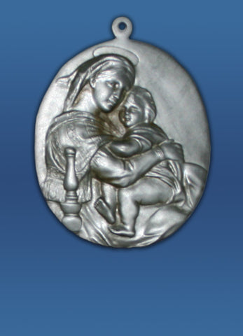 Plaque of the Madonna and Child - #321