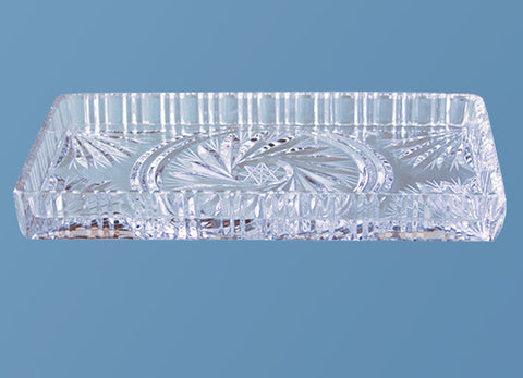 Rectangle Crystal Tray #522