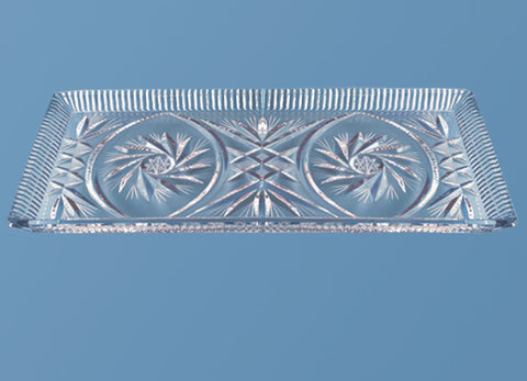 Rectangle Crystal Tray #523