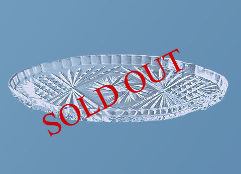 Oval Crystal Tray #524 (Sold out)