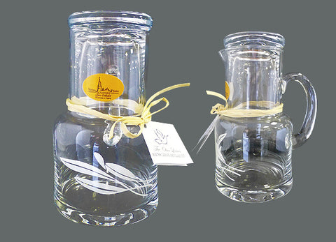 The Olive Leaves Water Carafe/Glass Set  #544