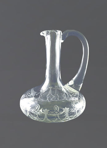 The Fleur de Lis Glass Cruet #549