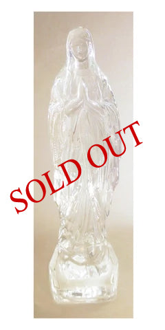 Crystal Statue of Our Lady of Lourdes  - #550
