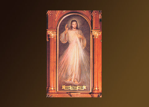Divine Mercy Altar Posters #810