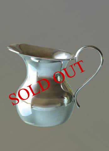 Gold-plated and Nickel-plated Single Cruet #10-43 $95   (Sold out)