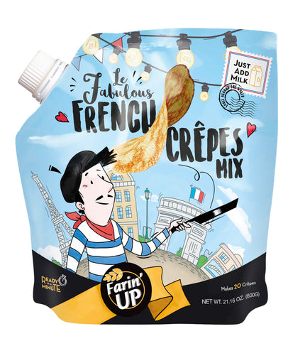 Farin'UP Crêpe Mix Package