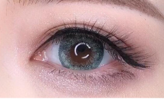 Blue-gray contact lens (TWO PIECE)  YC21242