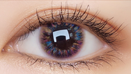 purple contact lenses (two pieces) YC21726