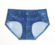 Lolita imitation denim ice silk briefs     YC21427
