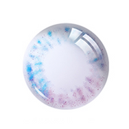 Blue-Purple Contact Lenses (Two Piece)  YC21525