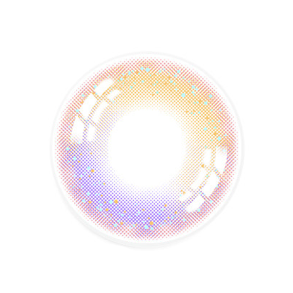 Pink-purple contact lenses (two pieces) YC21710