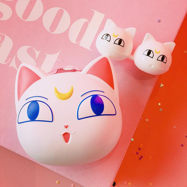 Cute cartoon contact lens case yc23304