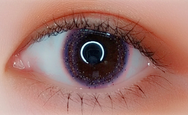 Purple contact lenses (two pieces) YC21530