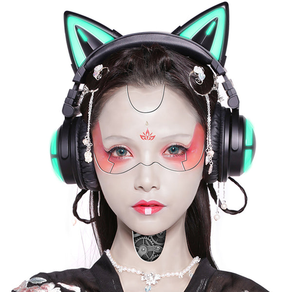 Cool style Cat Ear Wireless Bluetooth Headset yc23308