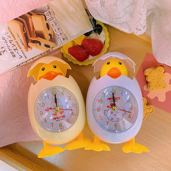Cartoon animal eggshell alarm clock yc23328