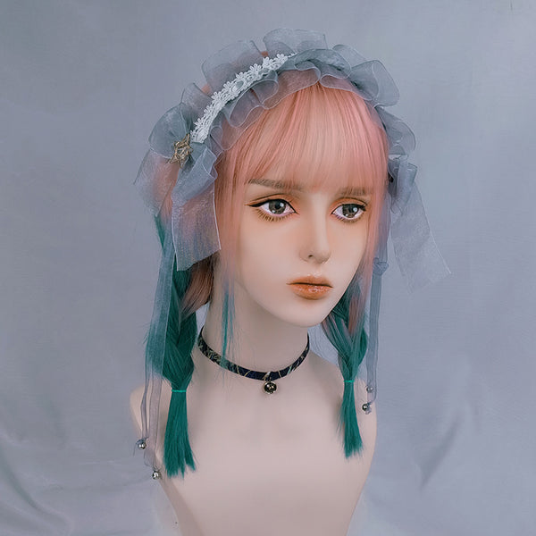 lolita cute gradient straight wig yc23331