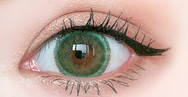 Green contact lens (Two piece)  YC21211