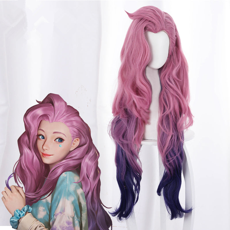 League Of Legends Seraphine cos wig yc23617