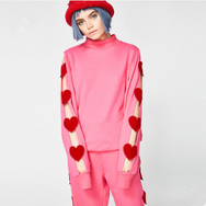 Cute Harajuku Love Sweatshirt yc20991