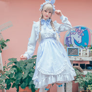 Lolita Cosplay Maid Dress yc21144