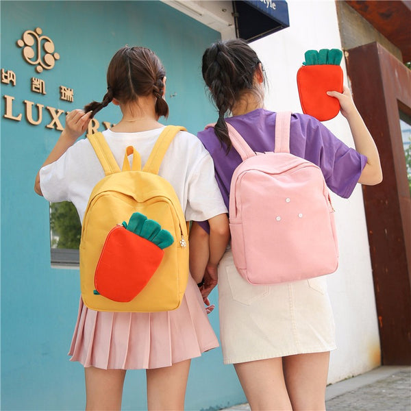 Japanese cute carrot backpack YC20452