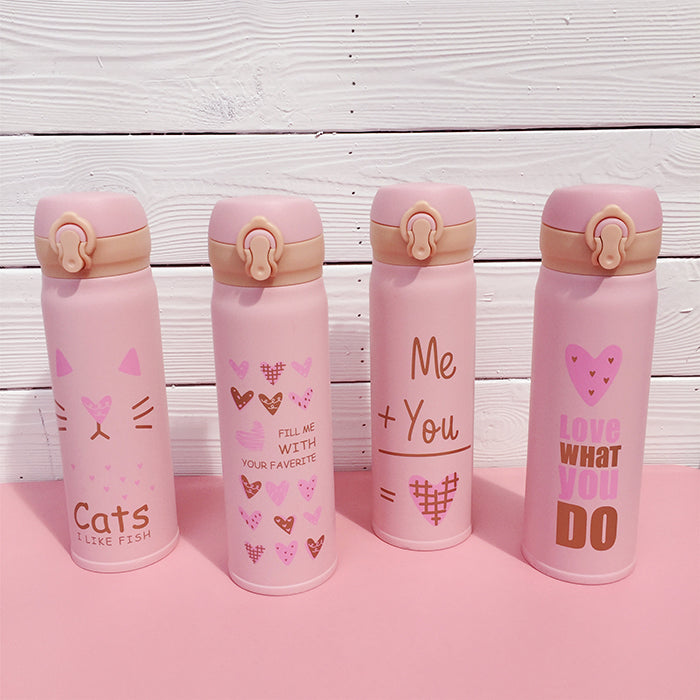Cute Love Cat Thermos Cup yc21135