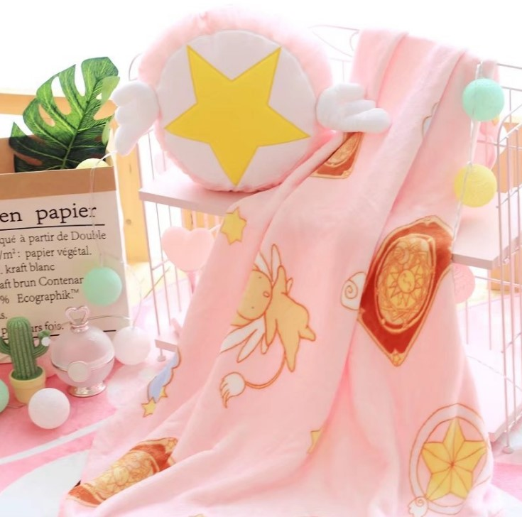 Cute pillow air conditioning blanket YC20448