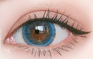 Blue  contact lens (Two piece)  YC21209