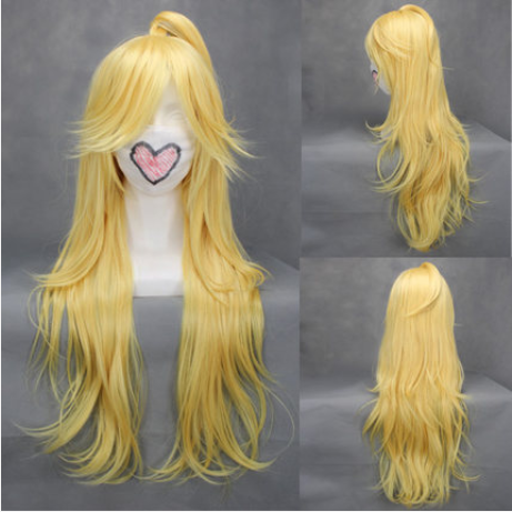 Panty & Stocking with Garterbelt cosplay wigs YC20346