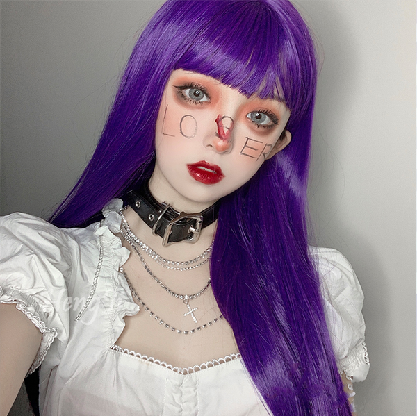 lolita purple wig yc22592
